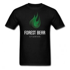 Forest Bear Logo T-Shirt (White Text)