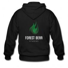 Forest Bear Logo Zipped Hoodie